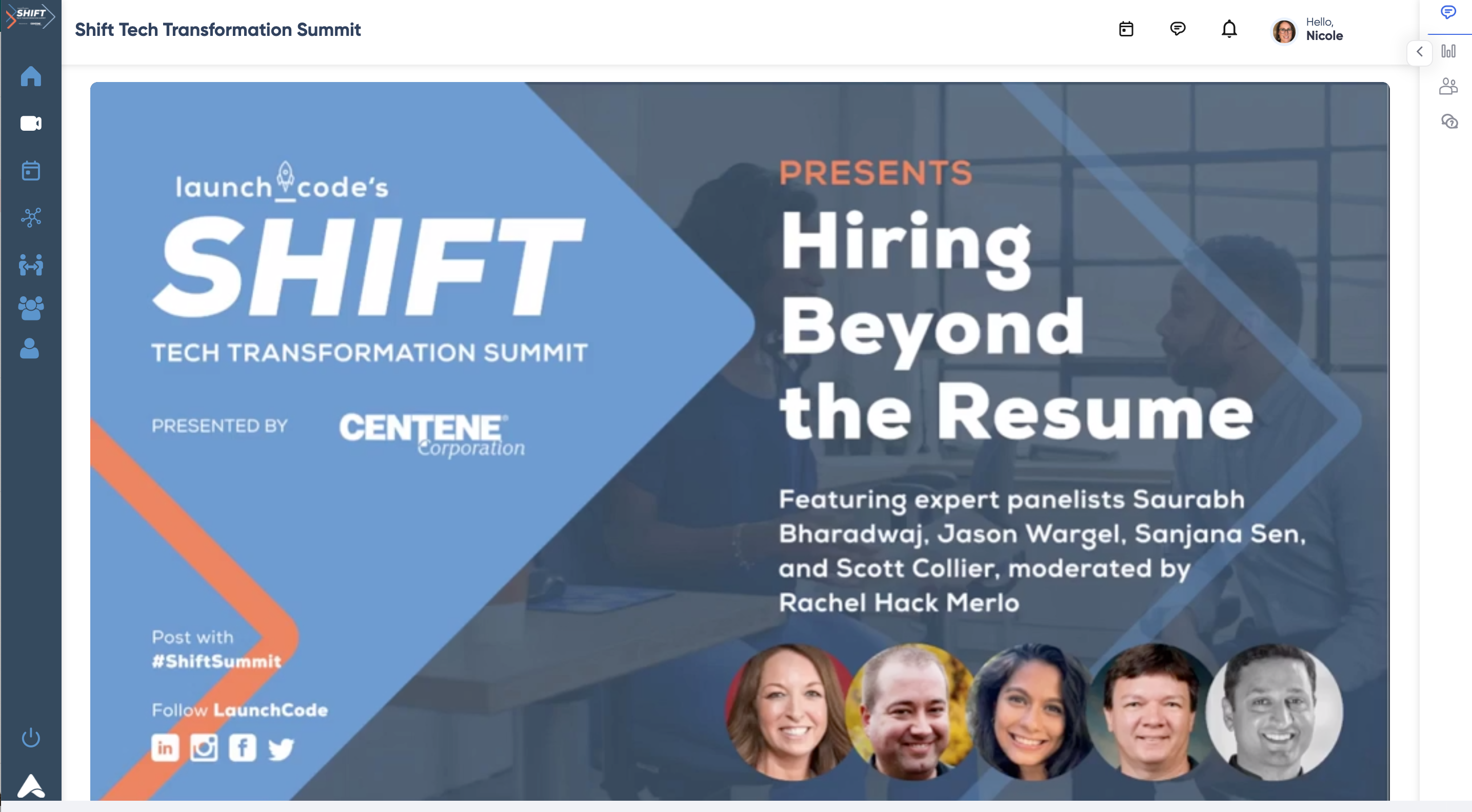 Shift Case Study- Mainstage